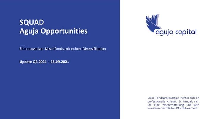 SQUAD Aguja Opportunities - Q3 2021 Quartalsupdate